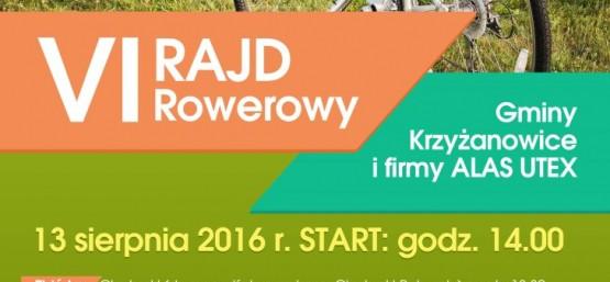 VI Rajd Rowerowy Gminy Krzyżanowice