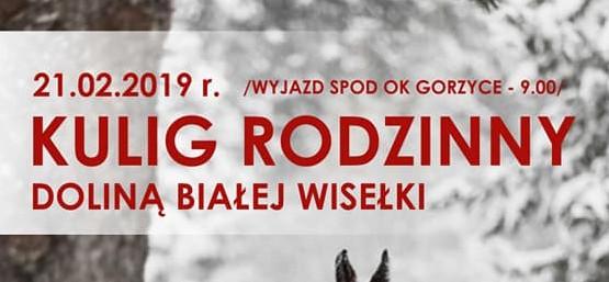 KULIG RODZINNY DOLINĄ BIAŁEJ WISEŁKI 21.02.2019