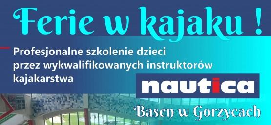 """""""FERIE W KAJAKU"""" NA BASENIE NAUTICA"""
