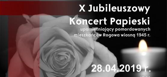X JUBILEUSZOWY KONCERT PAPIESKI