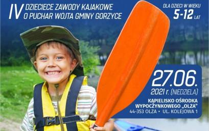 ZAWODY KAJAKOWE DLA DZIECI- 27.06.2021